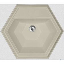 Advantage Series Edgefield Self Rimming Hexagon Bathroom Sink