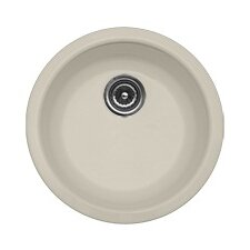"Advantage Series 18"" x 18"" Albion Round Self Rimming Prep Bar Sink"