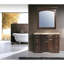 "Lotus 48"" Bathroom Vanity Set"