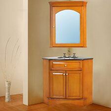 "<strong>Stufurhome</strong> Marcia 40"" Bathroom Vanity Set"