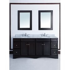 "72"" Decker Double Sink Vanity Set"