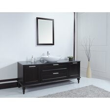 "72"" Philippe Single Sink Vanity Set"