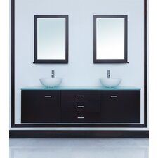 "72"" Luna Double Sink Vanity Set"