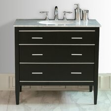 "36"" Whitney Single Sink Vanity Set"