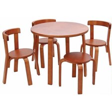 Play with Me Kids' 5 Piece Table and Chair Set