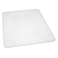 Swirl Design Chair Mat