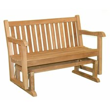 <strong>Jewels of Java</strong> English Garden Teak Glider Bench