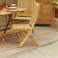 <strong>Jewels of Java</strong> Harbor Folding Dining Side Chair