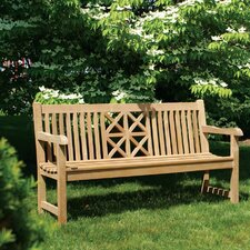 Hestercombe Teak Garden Bench