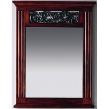 "<strong>Xylem</strong> Iris 24"" Vanity Mirror in Cinnibrown"