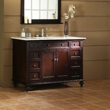 "<strong>Xylem</strong> Glenayre 48"" Bathroom Vanity Cabinet Set"