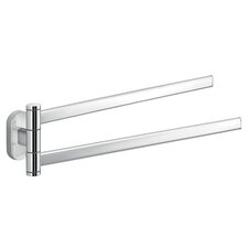 "Febo 13.78"" Wall Mounted Swivel Towel Bar"