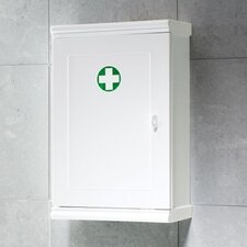 "Lilliput 9.8"" x 15.6"" Surface Mounted Medicine Cabinet"