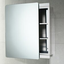 "<strong>Gedy by Nameeks</strong> Kora 18.11"" x 25.98"" Surface Mounted Medicine Cabinet"
