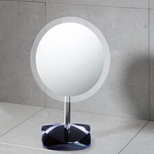 "Twist 11.4"" H x 7.2"" W Makeup Mirror"