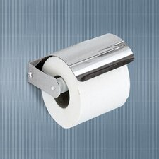 Ascot Toilet Paper Holder with Cover in Chrome