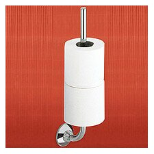 Ascot Wall Mounted Double Toilet Paper Holder