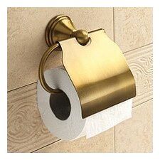 Romance Wall Mounted Toilet Paper Holder with Cover