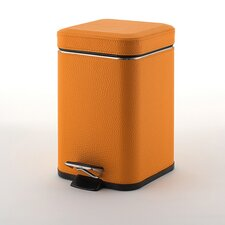 Faux Leather Square Waste Bin