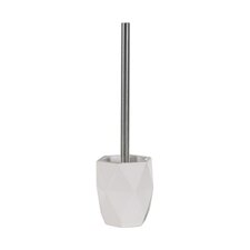 Dalia Toilet Brush Holder in White