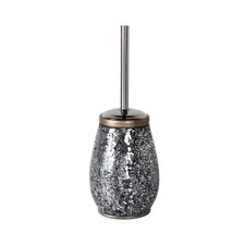 Myosotis Toilet Brush Holder in Silver