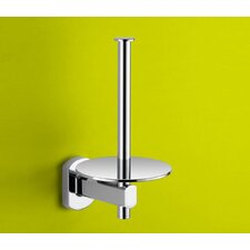 Edera Spare Toilet Paper Holder in Chrome