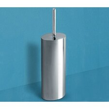 Mimosa Toilet Brush Holder in Chrome