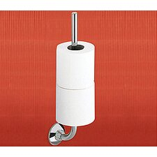 Ascot Double Toilet Paper Holder in Chrome