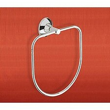 Ascot Towel Ring in Chrome