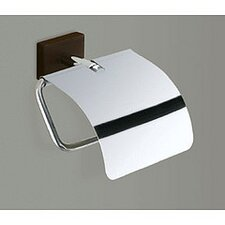 Minnesota Woods Toilet Paper Holder with Cover in Chrome