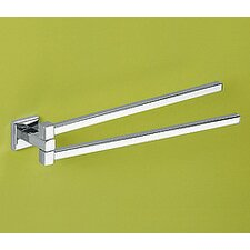 "Colorado 14.17"" Wall Mounted Double Towel Bar"