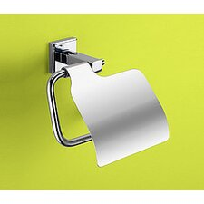 Colorado Toilet Paper Holder with Cover in Chrome
