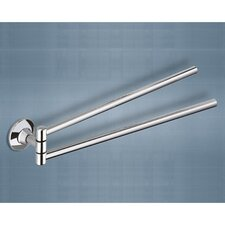 "Ascot 16.9"" Wall Mounted Swivel Towel Bar"
