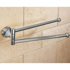 "Romance 14"" Wall Mounted Swivel Towel Bar"
