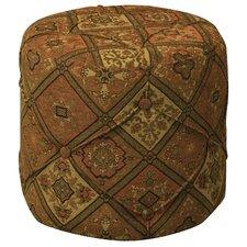Tapestry Pouf
