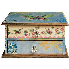 Butterfly 2 Drawer Jewelry Box