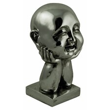 Cheeky Chappie Bust Ornament