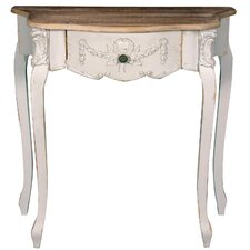Shabby Elegance Gesso Console Table *