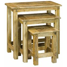 Granary Royale 3 Piece Nest of Tables