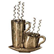 Steaming Mugs Wall Art