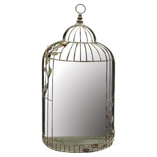 Bird Cage Wall Mirror