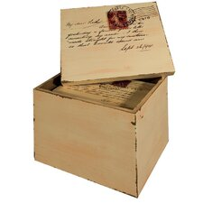 Postcard Lidded Box (Set of 2)