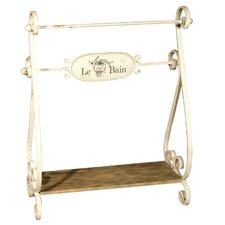 Le Bain Towel Rack with Shelf