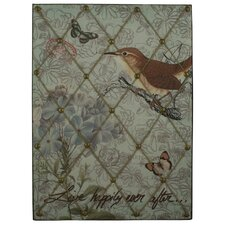 Pretty Bird Letter Memo Board