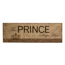 """Prince"" Tin Plaque"