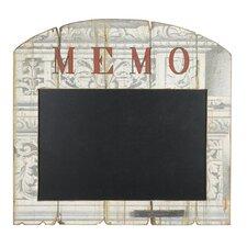 """""""Architectural Print"""" Memo Blackboard"""