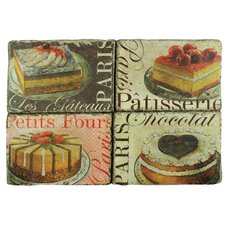 """""""Big Cakes"""" 3D Wall Plaque"""