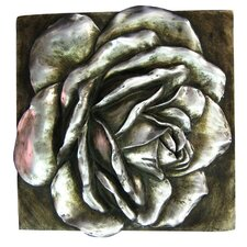 Rose 3D Wall Plaque