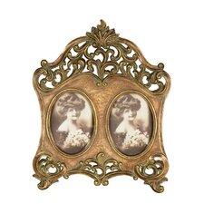 Double Oval Photo Frame