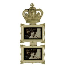 Crown Duo Photo Frame